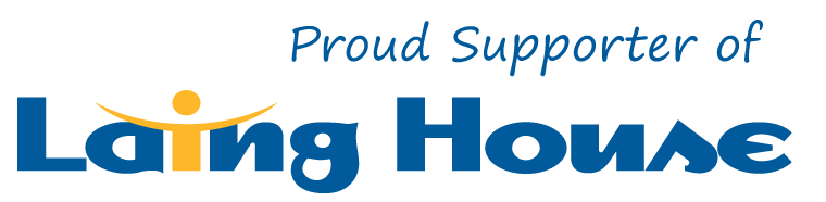 Proud Supporter of Laing House (1)
